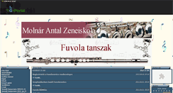 Preview of fuvolatanszak.gportal.hu