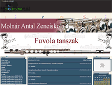 Tablet Preview of fuvolatanszak.gportal.hu